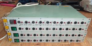4x DB Broadcast 10 channel Power Distribution Racks
