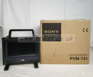Sony Professional video monitor PVM - 741 OLED