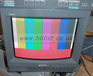 Sony PVM-N6E 14inch CRT Colour Monitor