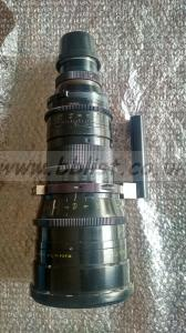 Cooke cinetal 25-250mm lens with mount support, 2X extender