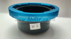 Fotodiox pro PL-M 4/3 Lens mount adapter (NEW)