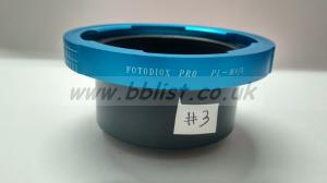 Fotodiox pro PL M 4/3 lens mount adapter (NEW)