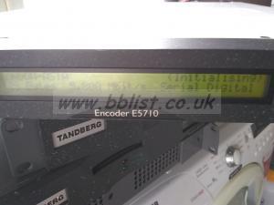 Tandberg En-5710 SD mpeg encoder