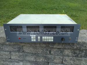 TSL AMU3-4MD SD embedded audio quad ppm monitor