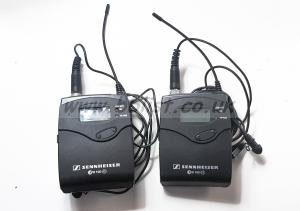 Pair of Sennheiser EW 100  Radio Mics/transmitters