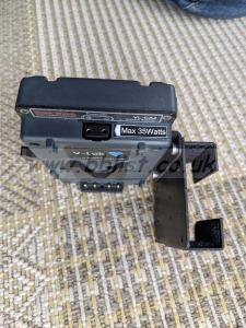 Hawkwoods VL-CA2 V-lok Camera Adapter with Radio Mic Holder