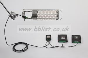 Angler LED Fixture Litegear + Jemball Hybrid