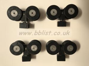 Dinky Dolly Track Wheels