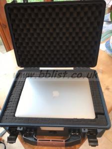 Peli case for Mac Pro laptop