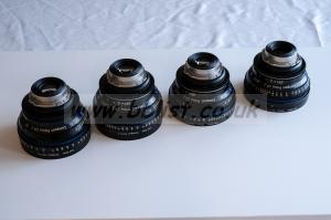 Set CP.2 3 Super speed 35,50,85mm + 15mm 2,9 PL mount