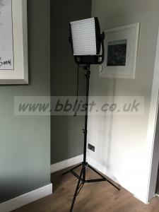Litepanels Astra 3xBi-Colour LED Light: inc litepanels stand
