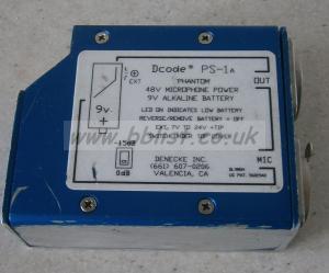 Denecke Dcode PS-!A 48v phantom power supply