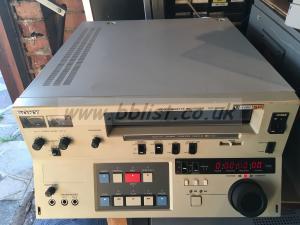Sony  VO-9800p u-matic recorder