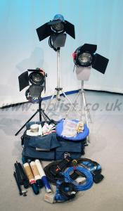 Arri 'Redhead' lighting kit – 3 lamps