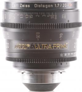 Arri Ultra Prime 20mm PL lens meter scale