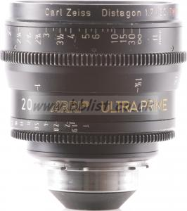 Arri Ultra Prime 20mm PL lens FEET scale.