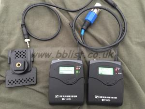 Sennheiser EW 100 G2 Transmitter and receiver set