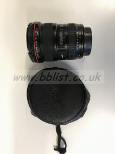Canon 17-40mm Lens  f/4 L USM