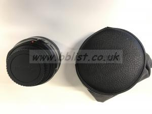 Canon 50mm L Series Lens / f1.2 / USM Rear View