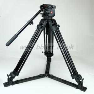 MANFROTTO 503HDV Head and 5525 MV Tripod