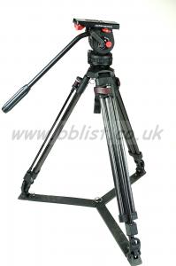SACHTLER DV4 ll Head and Tripod