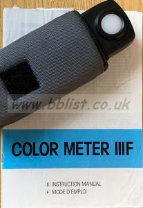Minolta Color Meter III F