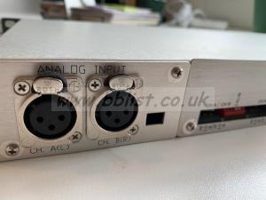 Wohler LM106-2 Rack mount Analog 2-channel level meter