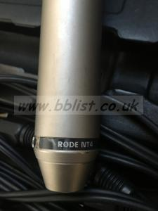 Rode NT-4 Stereo Microphone