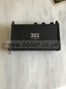 Sound Devices 302 portable mixer
