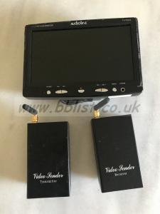 7'' TFT LCD MONITOR PAL NTSC and Tx Rx video sender