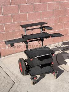 Sound Cart - large wheels heavy duty