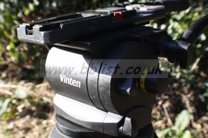 Vinten 250 Head, Legs and Skid.