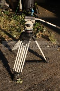 Vinten Vision 22 head with three stage Tripod