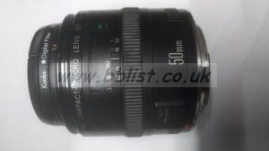 Canon EF 50mm f/2.5 Compact Macro Lens (used)