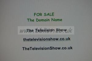 Domain Name for TV & Video makers TheTelevisionShow.co.uk