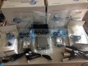 Lectrosonics Dual Receiver / Tx plus Cos 11 / Cables 606 blk