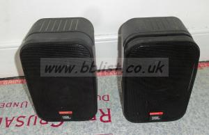 2x JBL Control-1 Audio Speakers