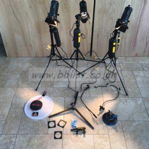 Dedo. 3 DLH4 Head lighting kit with accessories
