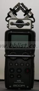 Zoom H5 4 tracks digital recorder