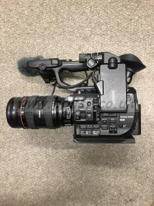Sony FS5 with Raw Key update and Stereo mic