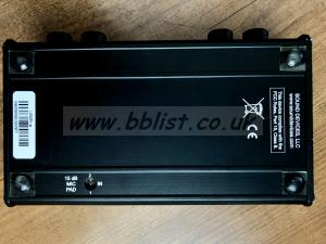 Sound Devices USBPre audio interface