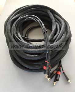 Multi Cable – 25 metres (approx). 2 x XLR, 2 x BNC.