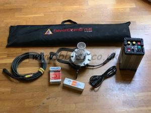 Dedolight 400/575W HMI DLH400s soft head ballast and softbox