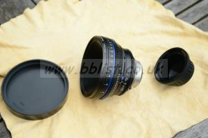 Zeiss 18mm CP.2 Compact Prime Lens Imperial Rings PL Mount