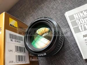 Nikon Nikkor 50mm 1.2 AIS Lens MINT