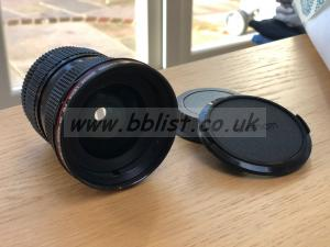Canon FD / EF Mount 20-35mm F3.5 L
