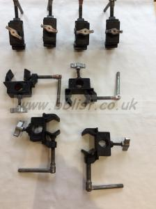 Adjustable barrel clamps Arri/avenger