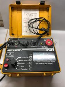 Megger Pat 2 tester