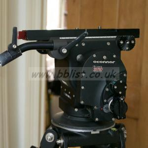 O'Connor 2575D Heavy Duty Fluid Head with Ronford Tripods