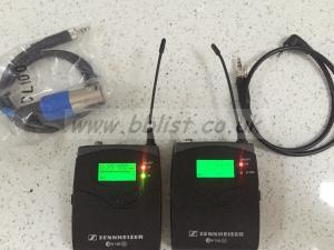 Sennheiser EW 100 G2 Transmitter and receiver set